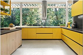 Arrital cucina moderna gialla